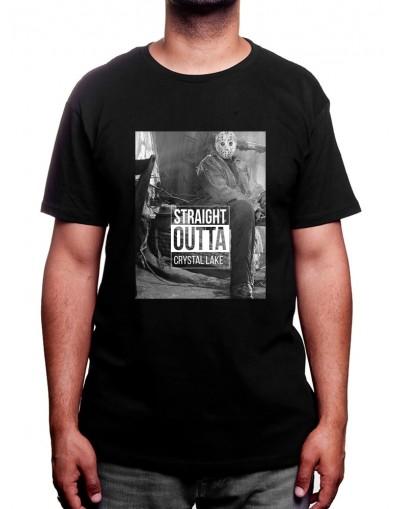 straight outta crystal lake - Tshirt Homme