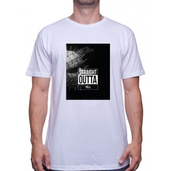straight outta hell - Tshirt