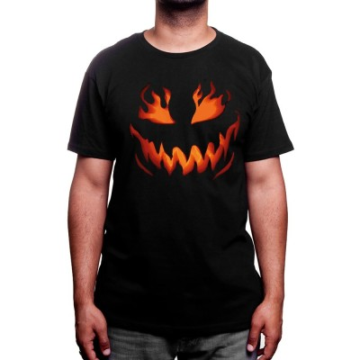 Halloween Flame Pumpkin - Tshirt