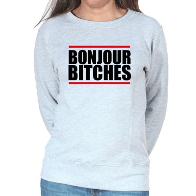 Bonjour Bitches - Sweat Crewneck