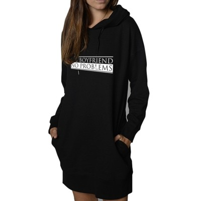 No Boyfriend No Problem - Sweat Oversized