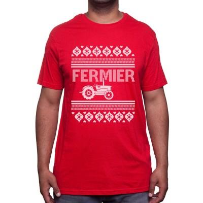 Christmas farmer - Tshirt Humour Agriculteur