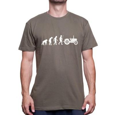 Darwin farmer - Tshirt Humour Agriculteur T-shirt Homme