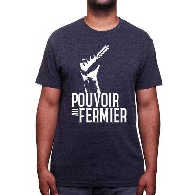 Farmer power - Tshirt Humour Agriculteur