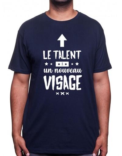 Le talent a un nouveau visage - Tshirt