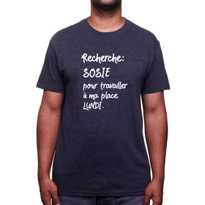 Recherche sosie pour Lundi - Tshirt Homme