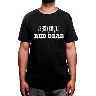 Je peux pas j'ai red dead - Tshirt