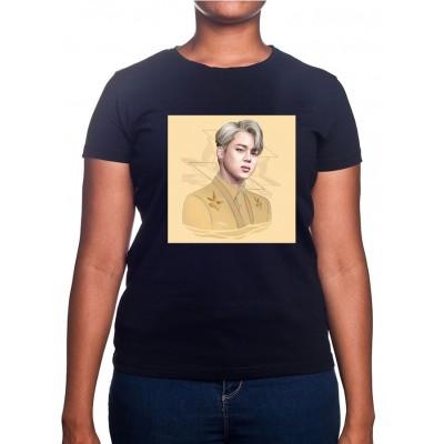 JIMIN Art - Tshirt BTS Femme