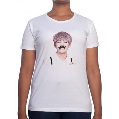 V Art - Tshirt BTS Femme