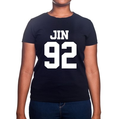 JIN 92 - Tshirt BTS Femme