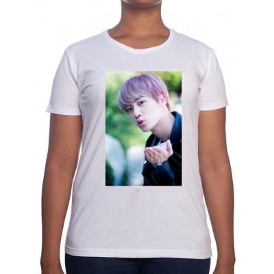 JIN Art - Tshirt BTS Femme