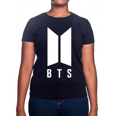 LOGO BTS - Tshirt BTS Femme