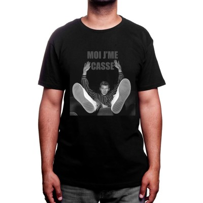 Moi je me casse - Tshirt Johnny Halliday Homme