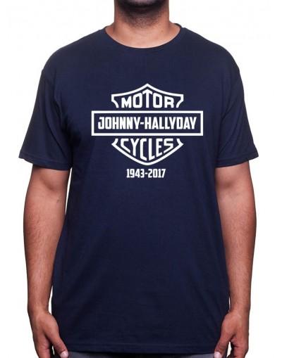 Harley - Tshirt Johnny Halliday Homme