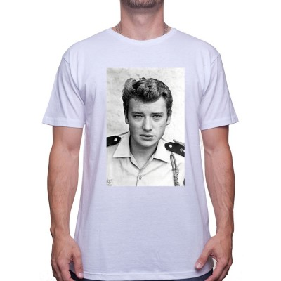 Militaire - Tshirt Johnny Halliday Homme