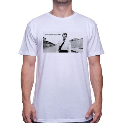 Une legende ne meurt jamais ART - Tshirt Johnny Halliday Homme