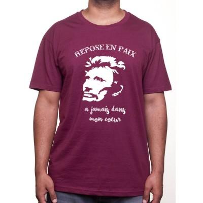 Repose en paix - Tshirt Johnny Halliday Homme