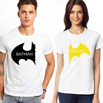 Batman Batgirl – Tshirt Duo pour Couple