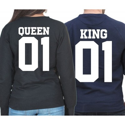 King & Queen ? Sweat Col Rond Duo Couple Sweat Col rond (Crewneck) Couple