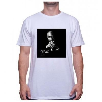 Tupac Noir et Blanc - Tshirt Sneakers Event