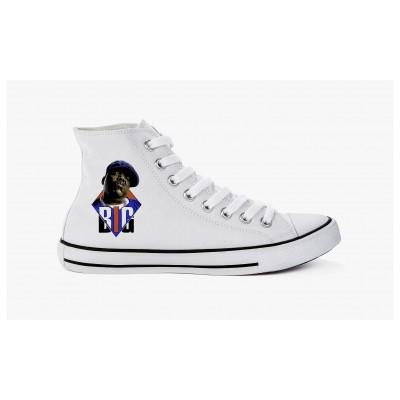 Sneakers Biggie White