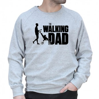 Walking Dad - Sweat col rond (Crewneck) Sweat Homme