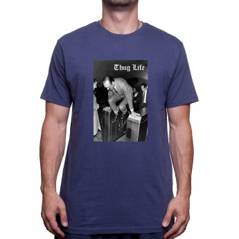 Jacques Chirac MÈtro Thug LIFE T-shirt Homme