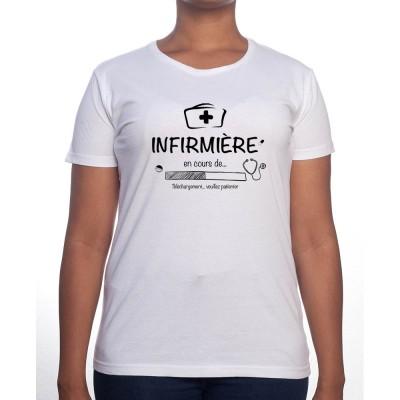 Infirmiere in progress - Tshirt Femme Infirmière