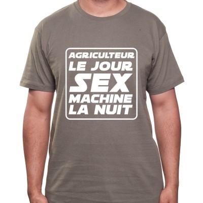 Agriculteur le jour Sex Machine la nuit - Tshirt Homme Agriculteur Tshirt homme agriculteur
