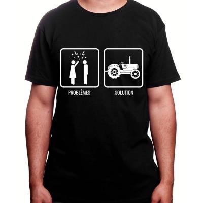 Problem Re?solu - Tshirt Homme Agriculteur Tshirt homme agriculteur