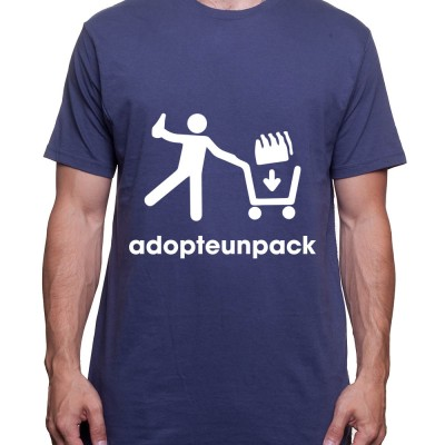 Adopteunebiere – Tshirt Homme Alcool