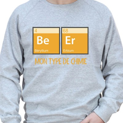 Beer Chimie – Sweat Crewneck Homme Alcool
