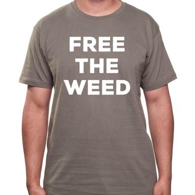 Free the Weed - Tshirt Homme Weed Tshirt Weed Homme