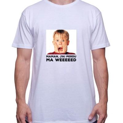 maman j'ai perdu ma weed - Tshirt Homme Weed Tshirt Weed Homme