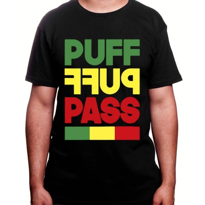 puff puff pass - Tshirt Homme Weed Tshirt Weed Homme
