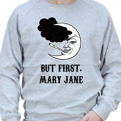 Dodo mais avant Marie jeanne - Sweat Crewneck Homme Weed Sweat Crewneck Homme Weed