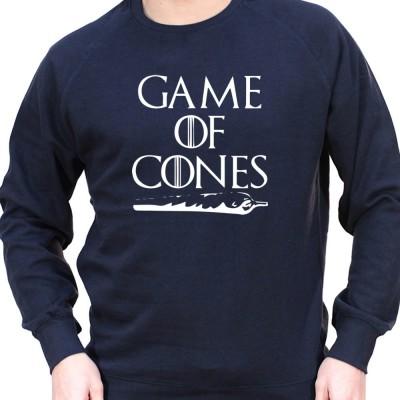 Game of Cone - Sweat Crewneck Homme Weed Sweat Crewneck Homme Weed