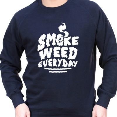 Smoke Weed everyday - Sweat Crewneck Homme Weed Sweat Crewneck Homme Weed