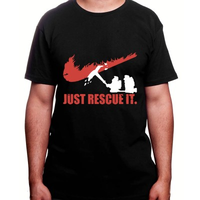 just rescue it - Tshirt Homme Pompier