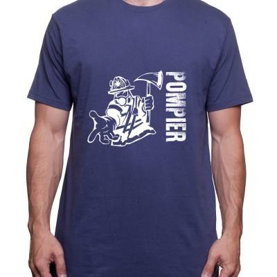 Pompier - Tshirt Homme Pompier Tshirt Homme Pompier