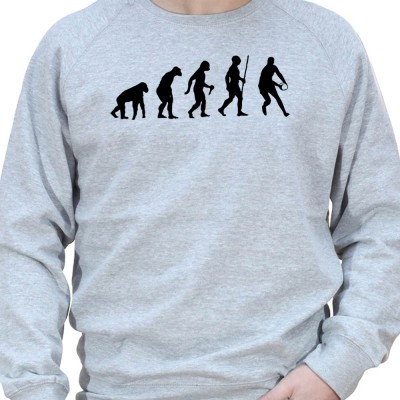 Rugby Darwin Evolution - Sweat Crewneck Homme Rugby