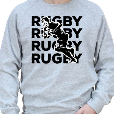 Rugby Rugby rugby - Sweat Crewneck Homme Rugby