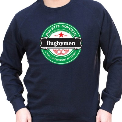 Rugbymen - Sweat Crewneck Homme Rugby