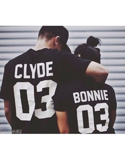 Bonnie & Clyde - Tshirt Duo Couple Tshirt DUO