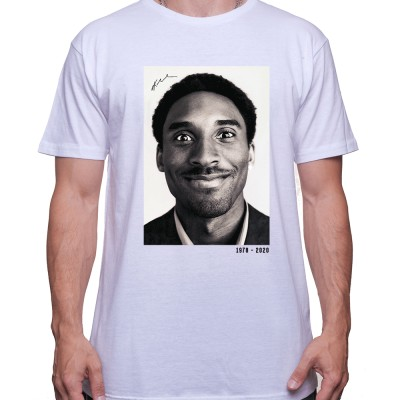 Kobe Black and white RIP 2 Tshirt Homme Basket