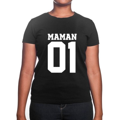 Maman numero - Tshirt Cadeau Maman Homme