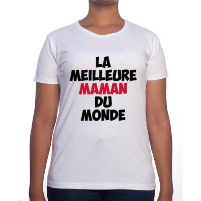 La meilleure maman du monde - Tshirt Cadeau Maman Homme
