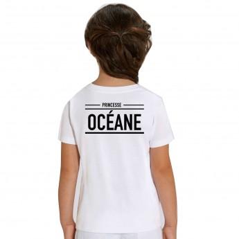 Tshirt Princesse Name - Shirtizz Tshirt Enfant