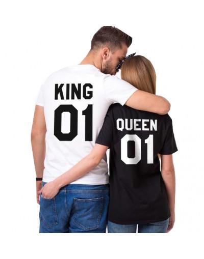 King & Queen - Tshirt Duo Couple Tshirt DUO